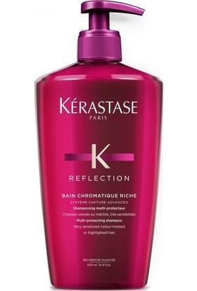 Kerastase Reflection Bain Chromatique Riche Shampoo 500 Ml Boyalı Saçlar İçin Renk Koruyucu Şampuan