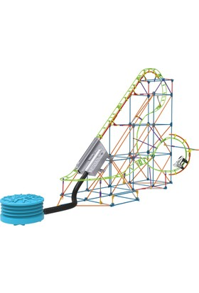 K'nex Lunar Launch Roller Coaster Set 51425 (Motorlu)