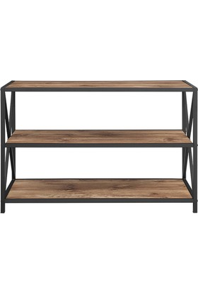 Wood Design Masif Ceviz Kitaplık