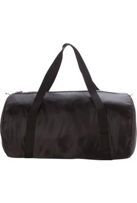 Domyos Katlanabilir Silindir Çanta 30L -M Boy- Siyah