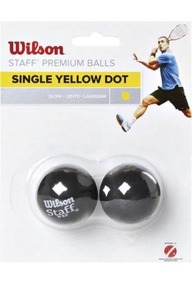 Wilson WRT617800 Staff 2li Squash Topu Sarı