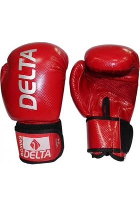 Delta Legend Kırmızı Deluxe PU Boks Eldiveni