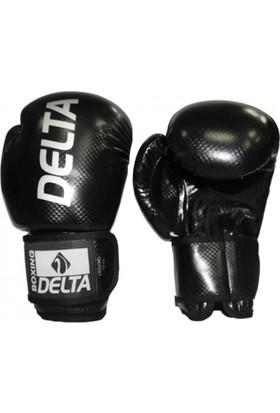 Delta Legend Siyah Deluxe PU Boks Eldiveni