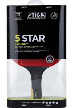 Stiga Synergy 5 Yıldız Balsa Acs/Wrb Masa Tenisi Raketi 1323- 01