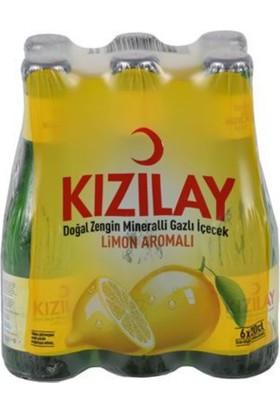 Kızılay C Plus Limonlu Soda 200 ml Cam 24 Adet