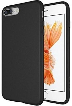 Markacase iPhone 7 Plus Siyah Yumuşak Silikon Tpu Kılıf