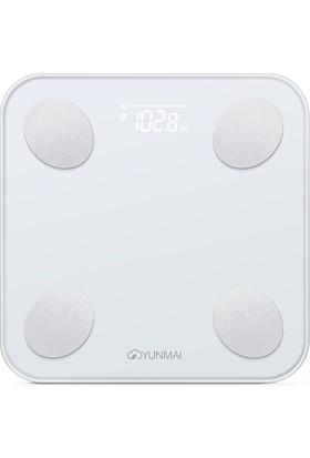 Yunmai Balance M1690 Vücut Analizli Beyaz Bluetooth Akıllı Tartı (YUM1690W)