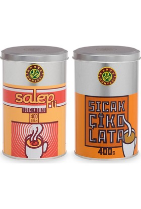 Kahve Dünyası Salep Ve Sıcak Çikolata 400 gr Deneme Paketi