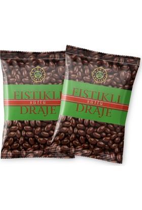 Kahve Dünyası Antep Fıstıklı Sütlü Çikolatalı 180 gr Draje 2'li Paket