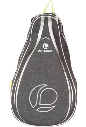 Artengo Raket Sporları Sırt Çantası - Koyu Gri Artengo