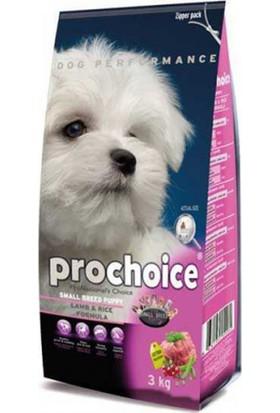 Prochoice Small Breed Puppy Kuzu Pirinç Köpek Maması 3 Kg