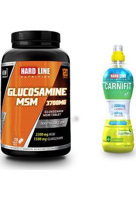 Hardline Nutrition Glucosamine Msm 120 Tablet + Carnifit