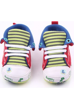 Romirus Bebek Spor Ayakkabı Kırmızı Mavi