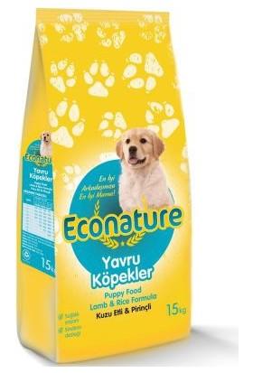 Econature Kuzulu Yavru Köpek Maması 15 kg