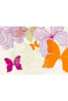 Cushion Design 4'Lü Butterfly Amerikan Servis