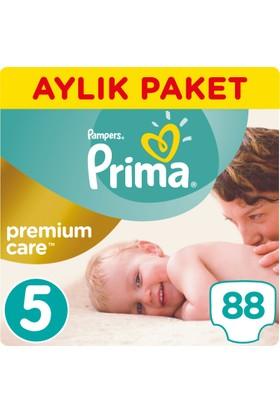Prima Bebek Bezi Premium Care 5 Beden Junior Aylık Paket 88 Adet