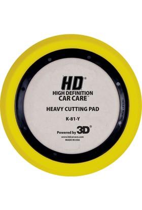 3D HD Ağır Çizik ve Kusur Düzeltici Pasta Süngeri. 180 mm. K81Y