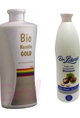 Bio Keratin Gold Brezilya Fönü 700Ml + Dr. Lavie Professional Tuzsuz Şampuan 1000Ml