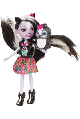 Mattel Enchantimals Bebek Karakter Bebekler Miniş Hayvan Oyuncak Kokarca
