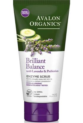 Avalon Organics Brilliant Balance Enzyme Scrub 113GR