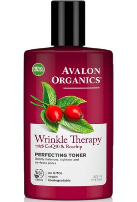 Avalon Organics Wrinkle Therapy Mükemmel Tonik 237ML
