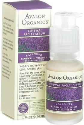 Avalon Organics Lavanta Yenileyici Yüz Serumu 30ML