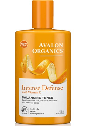 Avalon Organics Intense Defense Dengeleyici Tonik 251ML