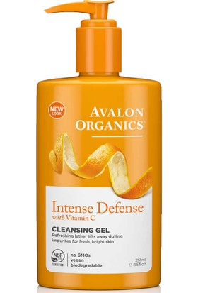 Avalon Organics Intense Defense Temizleme Jeli 251ML