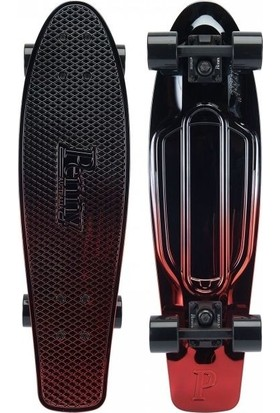 "Penny Board The Original Gunmetal Red 27"" Kaykay"
