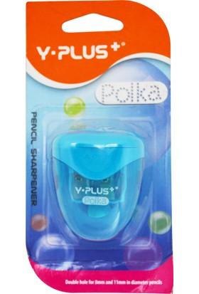 Y-Plus Polka Çift Bıçaklı Kalemtıraş Bls