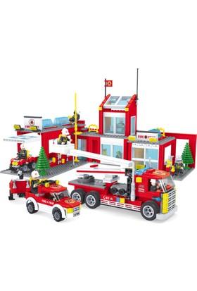Bricks 915 Parça İtfaiye Seti