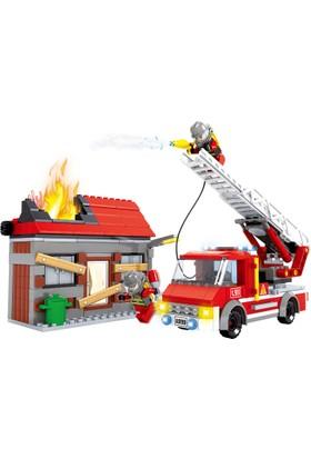 Bricks 355 Parça İtfaiye Seti
