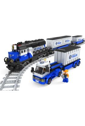 Bricks 1008 Parça Tren Seti