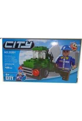 Bricks 49 Parça City Seti