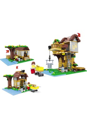 Bricks 384 Parça 3 in 1 Set