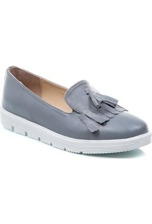 Deristudio Cnk3060 Gri Kadın Günlük Ayakkabı