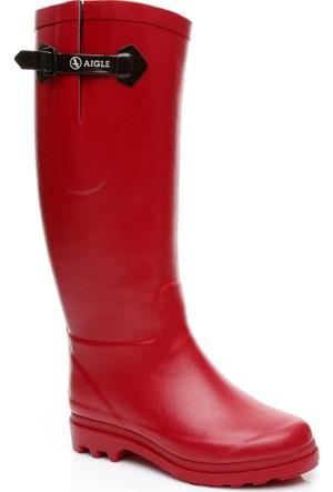 Aigle Aiglentine Fur Kadın Kırmızı Yağmur Botu 858954
