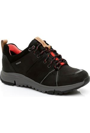 Clarks Tri Trek Gore-Tex Kadın Siyah Ayakkabı 261269094