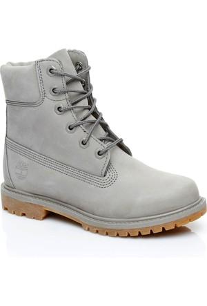 Timberland 6 IN Premium Women Gri Sneaker Ayakkabı CA1KLW