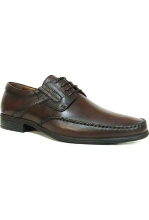Fastway 2195 Kahverengi Bağcıklı Erkek Ayakkabı