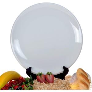 ancel pm1003210 otel serisi yuvarlak düz beyaz tabak