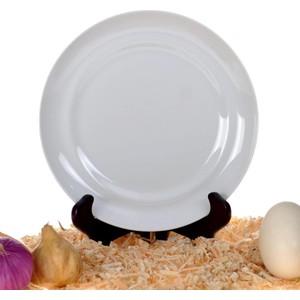 ancel pr1002010 otel serisi düz beyaz kenarlı tabak