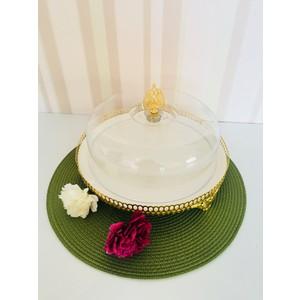 d-sign home gold lux kek fanusu büyük