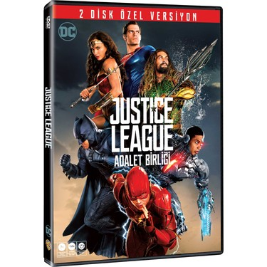 adalet birligi justice league 2 disc dvd
