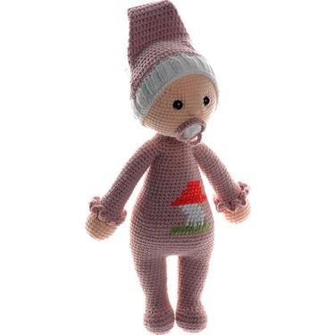 Emzikli Bebek Uyku Arkadaşı Amigurumi Organik Oyuncak | 375x375