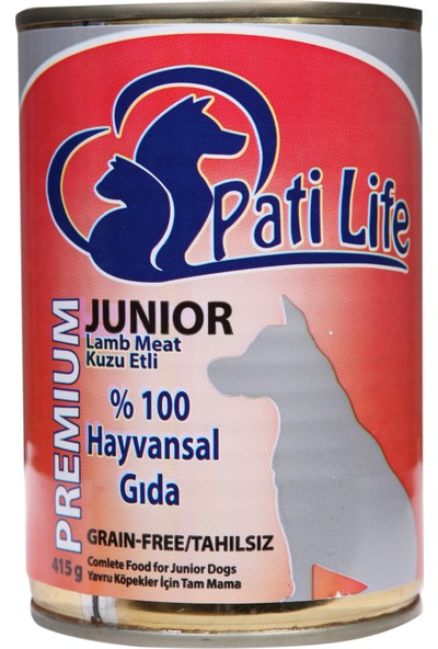 Pati Life Tahılsız Yavru Köpek Konservesi 415 Gr