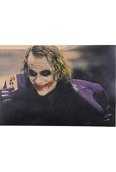 Solfera Joker Dark Knight Heath Ledger Kraft Poster Af013