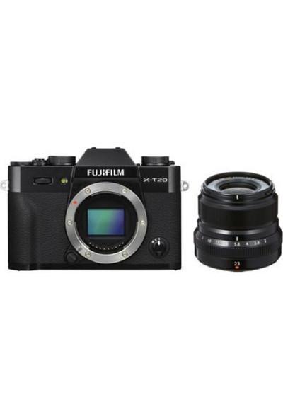 Fujifilm X-T20 + XF 23mm F2 WR Kit Siyah