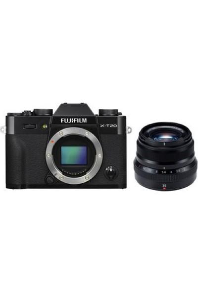Fujifilm X-T20 + XF 35mm F2 WR Kit Siyah