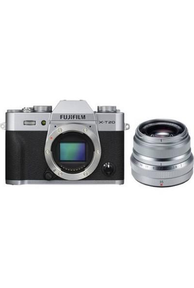 Fujifilm X-T20 + XF 35mm F2 WR Kit Gümüş